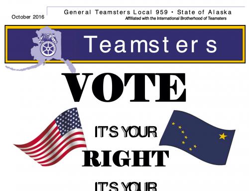 Teamsters 959 Newsletter October 2016