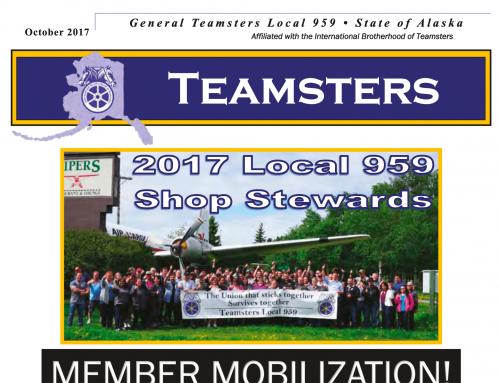 Teamsters 959 Newsletter October 2017