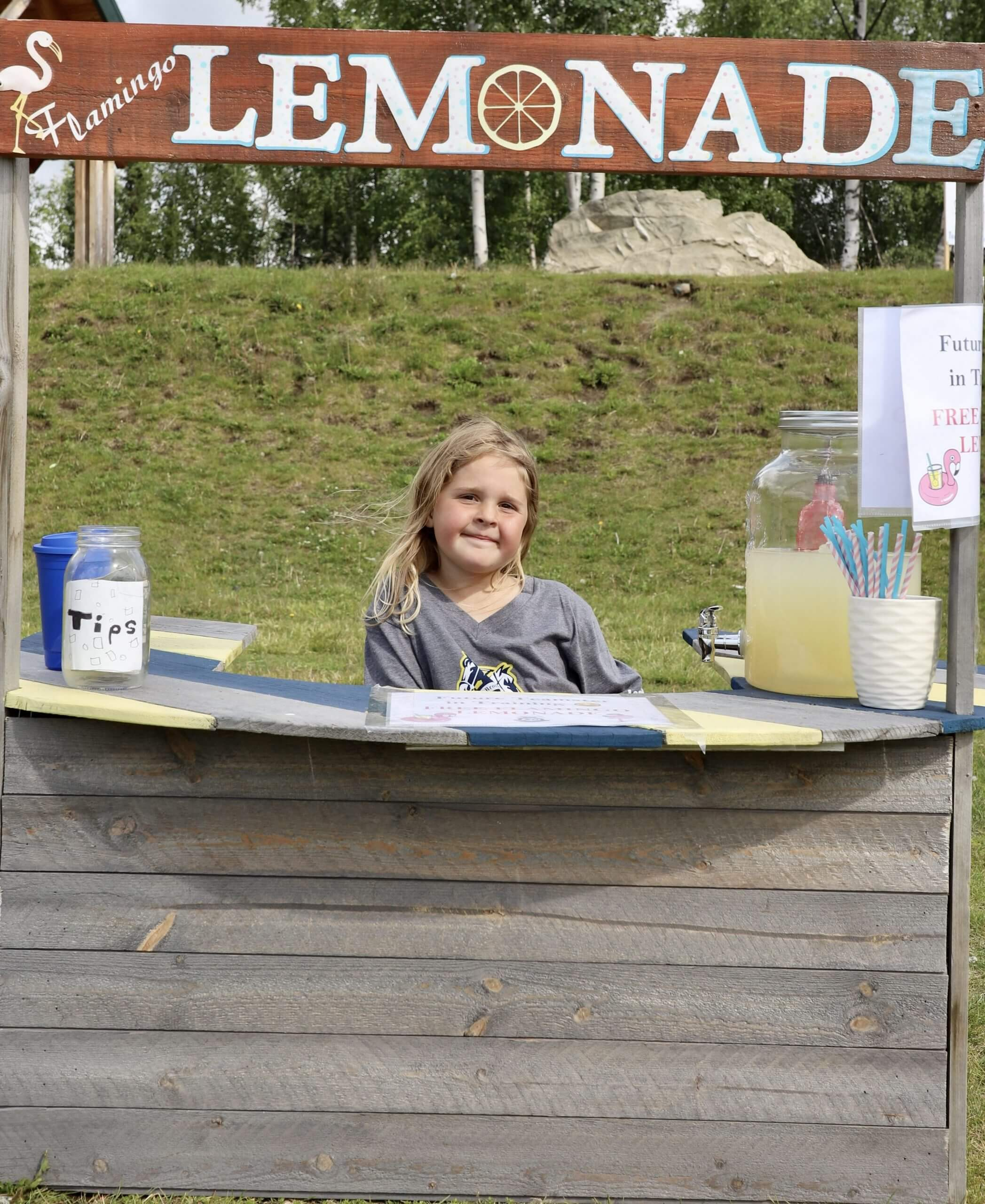 Lemonade Stand, 80 Year Celebration